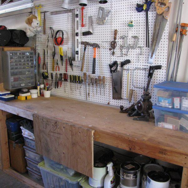Se ami il fai-da-te puoi trasformare il tuo garage in un luogo dove passare un po' di tempo